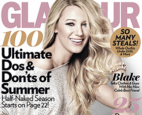 Blake goes for Glamour