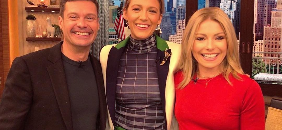 "Blake Lively visits ""Live with Kelly & Ryan"""