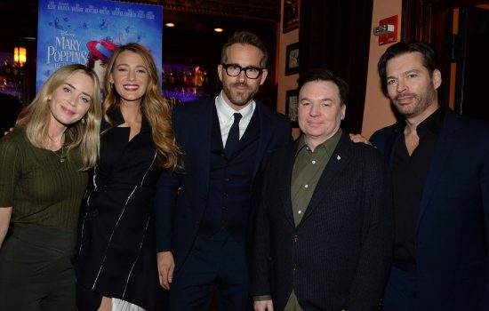 Blake Lively & Ryan Reynolds hosts a private screening of Mary Poppins Returns!