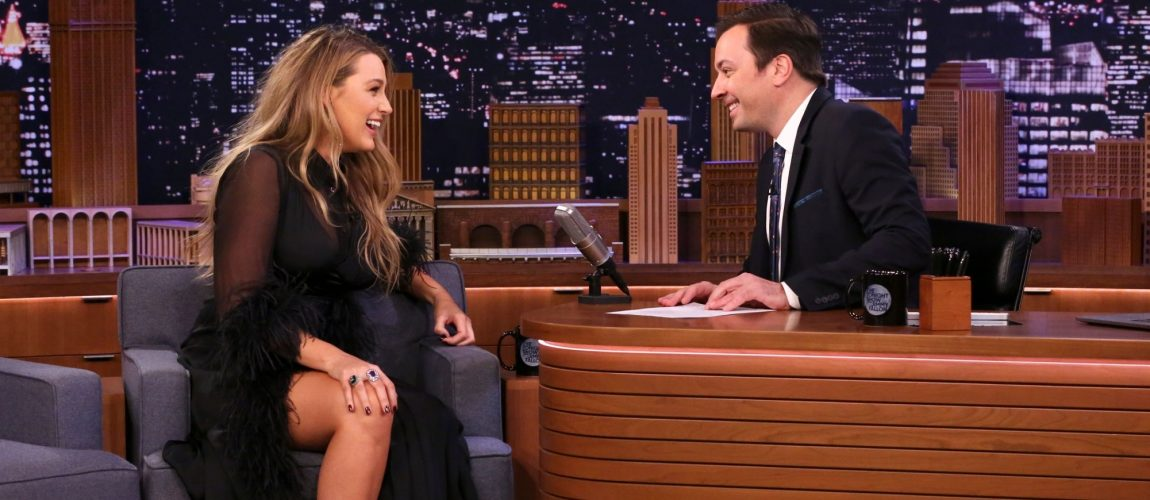 Blake Lively visits 'The Tonight Show Starring Jimmy Fallon'