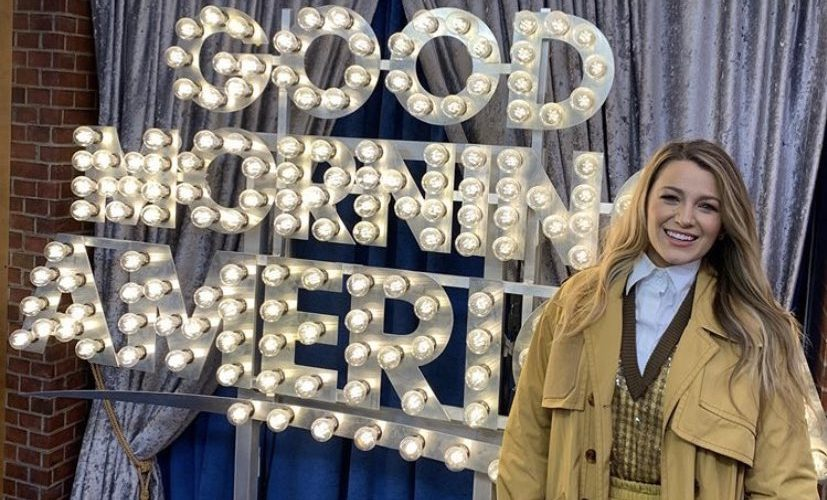 Blake Lively visits ' Good Morning America'